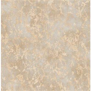 Papier peint Imogen Faux Marble de Fine Decor, beige