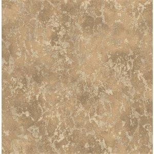 Papier peint Imogen Faux Marble de Fine Decor, cuivre