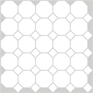 Octagon Peel & Stick Backsplash Tiles