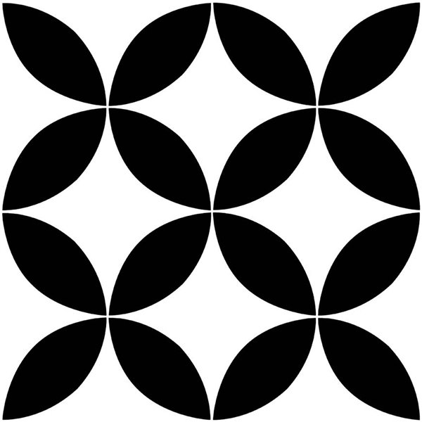 Tuiles adhédifs Starlight de Floorpops, 12 po x 12 po