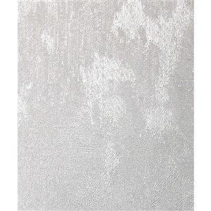 Papier peint Kara Texture de Advantage, argent