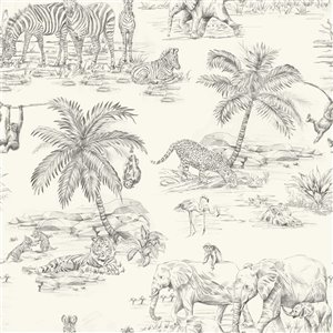 Origin Javert Safari Wallpaper - Cream