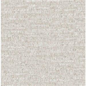 Papier peint Henrique Faux Cork de Fine Decor, gris