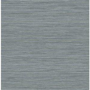 Papier peint Barnaby Faux Grasscloth de A-Street Prints, gris