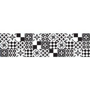 Dosseret Azulejos noir et blanc