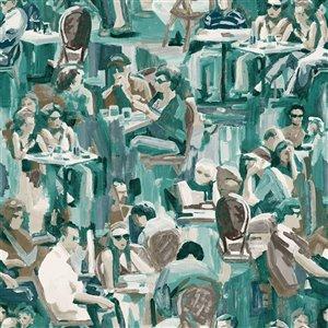 Origin Wunderkammer Café Wallpaper - Jade