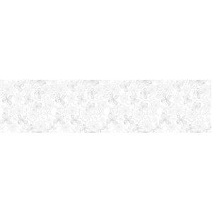 Crearreda Flowers Premium Window Film - 70.8-in x 17.1-in