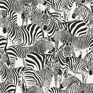 Origin Jemima Zebra Wallpaper - Black