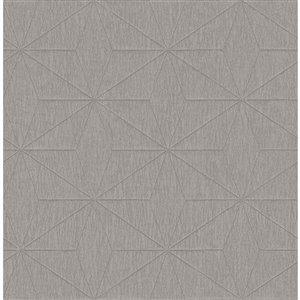 Papier peint géométrique Bernice de Fine Decor, beige