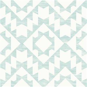 Papier peint géométrique Fantine de ESTA Home, menthe