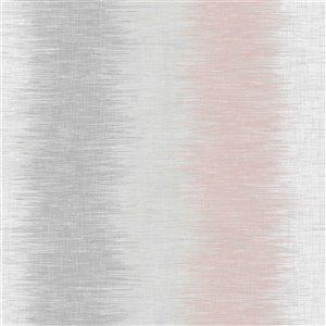 Papier peint Winchester Abstract Stripe de Brewster, gris