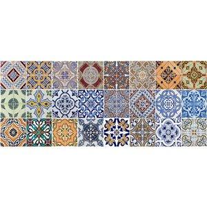 Tapis en vinyle Spring Tile de Crearreda, 19,7 po x 47,2 po