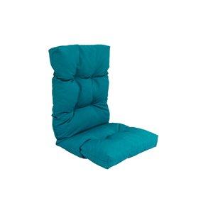 Coussin pour chaise de patio à haut dossier de Bozanto Inc., turquoise