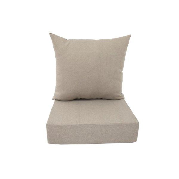 Bozanto Inc. Deep Seat Patio Chair Cushion - Beige
