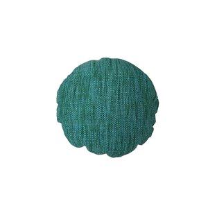 Coussin d'extérieur décoratif rond de Bozanto Inc., 16 po x 16 po,  vert