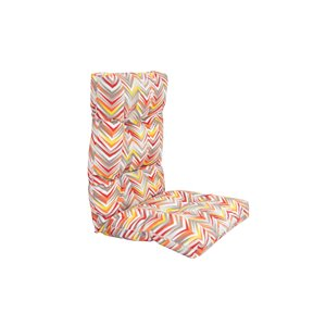 Coussin pour chaise de patio à haut dossier de Bozanto Inc., rose