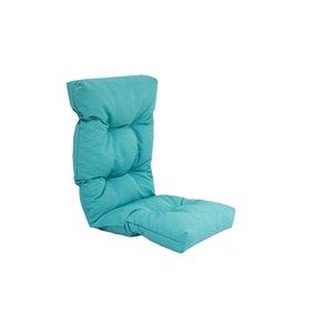 Coussin pour chaise de patio à haut dossier de Bozanto Inc., bleu pâle