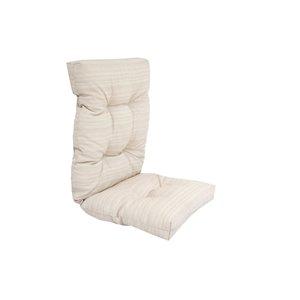 Coussin pour chaise de patio à haut dossier de Bozanto Inc., crème