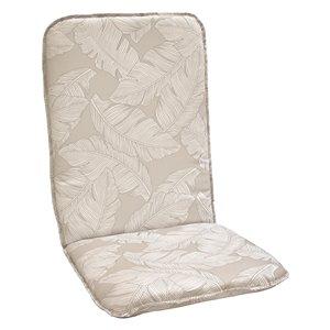 Coussin pour chaise de patio à haut dossier de Bozanto Inc., beige pâle