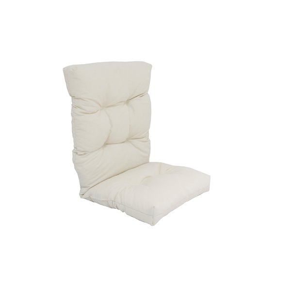 Back Patio Chair Cushion White, Pier 1 Imports Outdoor Seat Cushions