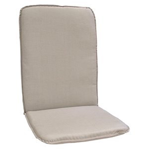 Coussin pour chaise de patio à haut dossier de Bozanto Inc., beige