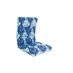 Coussin pour chaise de patio à haut dossier de Bozanto Inc., bleu
