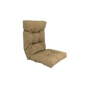 Coussin pour chaise de patio à haut dossier de Bozanto Inc., beige/kaki