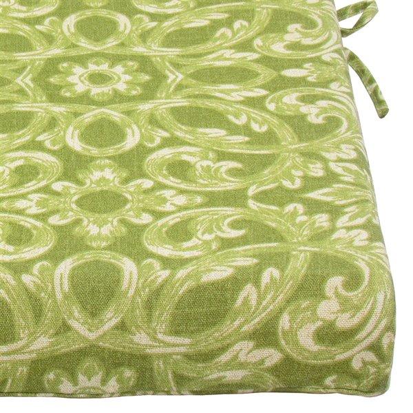 Coussin d'assise pour chaise de patio de Bozanto Inc., vert