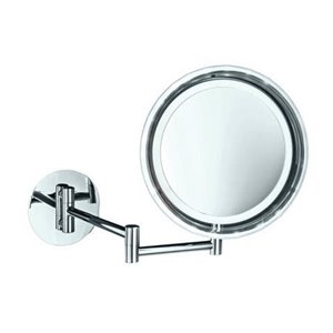 WS Bath Collections Magnifying Makeup Mirror - Chrome/Bronze