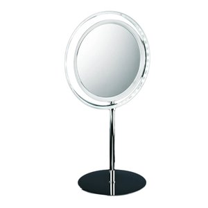 WS Bath Collections Magnifying Wall-Mount Makeup Mirror - Polished Chrome