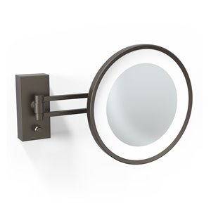WS Bath Collections Magnifying Makeup Mirror - Dark Bronze