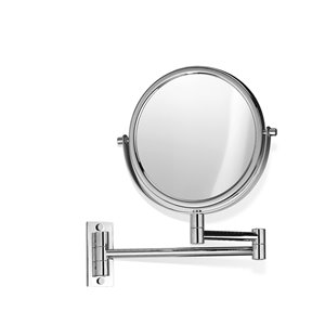 WS Bath Collections Magnifying LED Makeup Mirror - Chrome