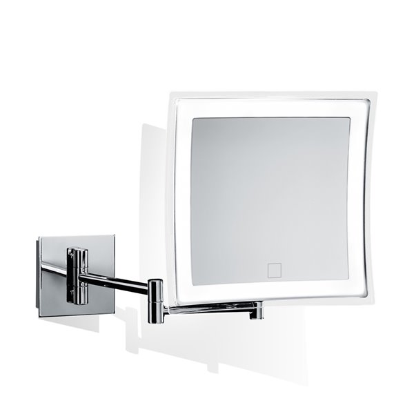 Ws Bath Collections Magnifying Wall, Magnifying Bathroom Mirror