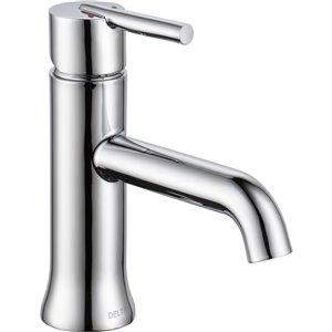 Robinet de salle de bain à 1 poignée Trinsic de DELTA, chrome