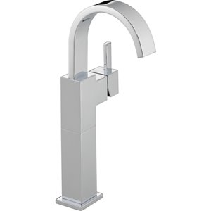 Robinet pour vasque de salle de bain Vero de DELTA, 1 poignée, chrome