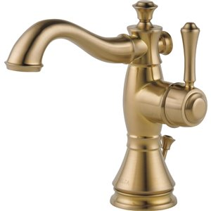 Robinet de salle de bain Cassidy de DELTA, 1 poignée, champagne bronze