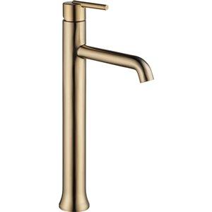 Robinet pour vasque de salle de bain Trinsic de DELTA, 1 poignée, champagne bronze