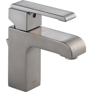 Robinet de salle de bain Arzo de DELTA, 1 poignée, acier inoxydable