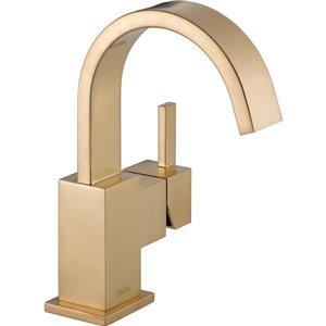 Robinet de salle de bain Vero de DELTA, 1 poignée, champagne bronze