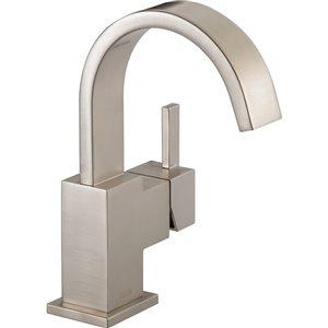 Robinet de salle de bain Vero de DELTA, 1 poignée, acier inoxydable