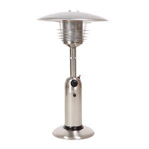 Chauffe-terrasse pour table au propane de Legacy, 10 000 BTU, 36,4 po, acier inoxydable