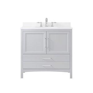 OVE Decors Joyce 36 Single Sink Bathroom Vanity - Dove Grey