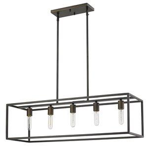 Luminaire suspendu Cobar de Acclaim Lighting, 5 ampoules