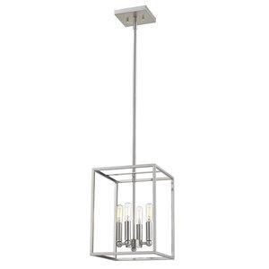 Luminaire suspendu Cobar de Acclaim Lighting, 4 ampoules, acier