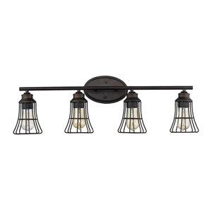 Applique Piers de Acclaim Lighting, 5 lumières, bronze huilé