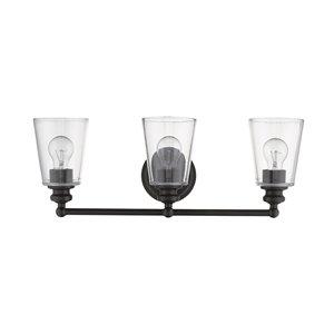 Applique de meuble-lavabo Ceil de Acclaim Lighting, 3 lumières, bronze