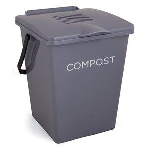 Tumbleweed Organi-Bin Kitchen Compost Bin - 2 Gallons - Fieldstone