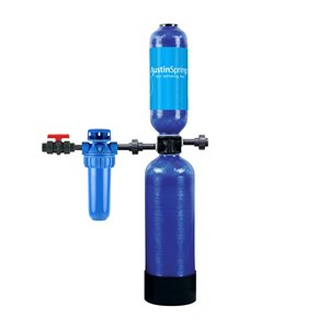 Conditionneur d'eau sans sel résidentiel Austin Springs, 2 filtres