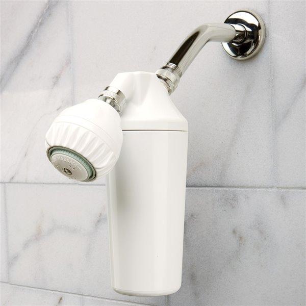 Pomme de douche avec filtre Austin Springs, blanc