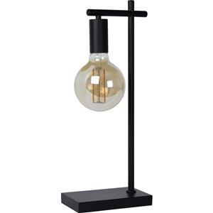 Lampe de Table Spector de Notre Dame Design, 20,75 po, noir